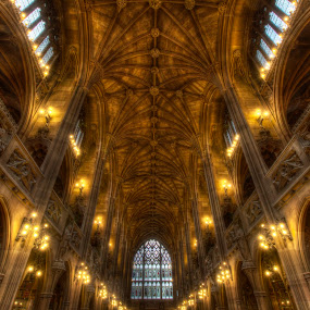 the library by Gokhan Bayraktar - Buildings & Architecture Architectural Detail ( interior, john rylands library, building, librariesoftheuk, librariesofthemanchester, architecture, manchester )