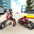 Motorcycle Robot Simulator 3D