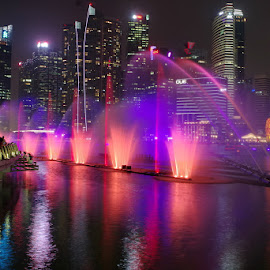 by Ken Goh - City,  Street & Park  Fountains