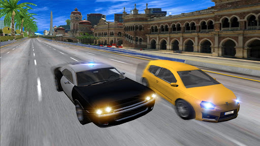 Police Highway Chase in City - Crime Racing Games screenshot 3