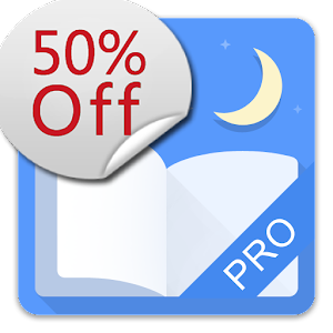 Moon+ Reader Pro (50% OFF) Released on Android - PC / Windows & MAC