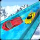 Frozen Water Slide Car Game