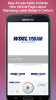 Screenshot of 1150AM WDEL