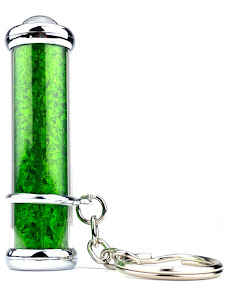 Калейдоскоп New классический брелок, зеленый