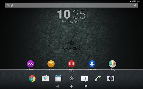 XPERIA™ Diamante Contemporary Theme