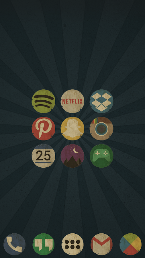 Vintage Icon Pack Screenshot 2