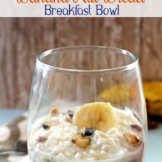 Banana Nut Bread Breakfast Bowl
