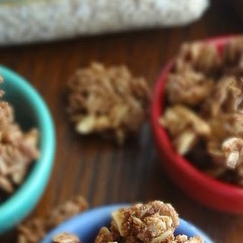 Chocolate Peanut Butter Cookie Granola