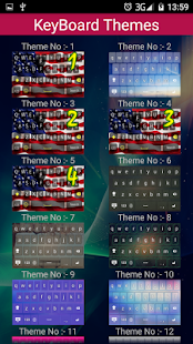 American Keyboard Themes - screenshot