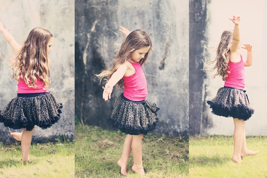 dance by Monica Franco-Pineda - Babies & Children Child Portraits ( girl, fun, dance, pretty )