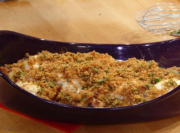 Roasted Cauliflower Au Gratin Recipe | Yummly