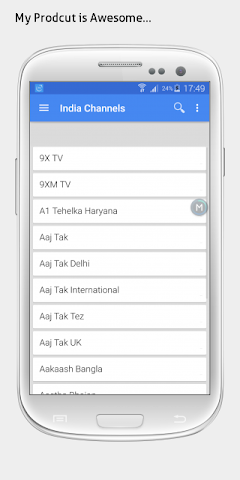 android Telugu TV sat info Screenshot 1