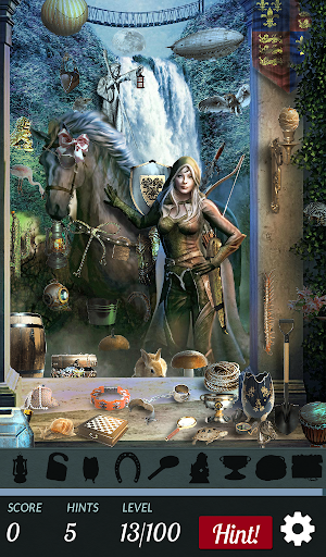 Hidden Object - Mystique Elves - screenshot