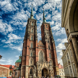 Wroclaw Cathedral Island by Adam Lang - Buildings & Architecture Places of Worship ( church, cathedral island, architecture, wroclaw, poland )