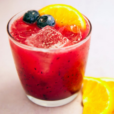 Blueberry Mai Tai