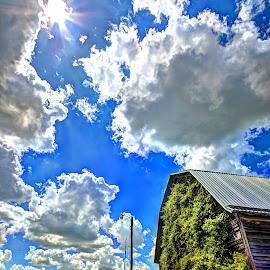 Ivy Barn by Derrill Grabenstein - Digital Art Places