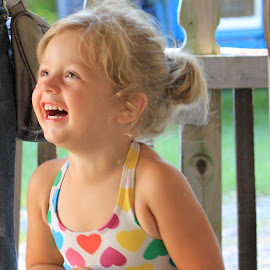 Ella Rose by Tracy Halman - Babies & Children Children Candids ( love, sweet child, fun, laughter, smiling )
