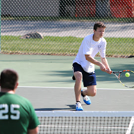Cutthroat by Kristin Cheatwood - Sports & Fitness Tennis ( tennis, tennis ball )