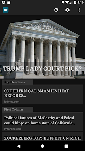 News Today- An app to read Drudge Report Bulletins