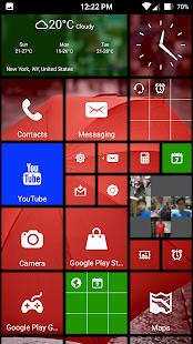 App 8 Metro style launcher theme apk for kindle fire