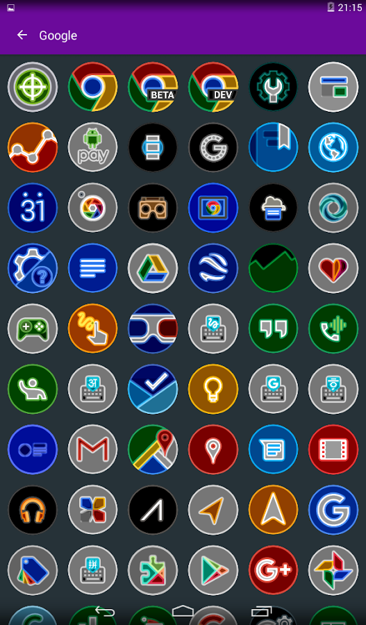 Nekko - Icon Pack Screenshot 8