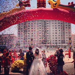 Family wedding 🎉🎉 by Caro Amtmann - Instagram & Mobile Instagram ( wedding, ace_, all_shots, webstagram, pickture_app, postcardgram, photooftheday, yantai, china, statigram, contestgram, igers, igmate, igtube, i_promote, instagood, instadaily )