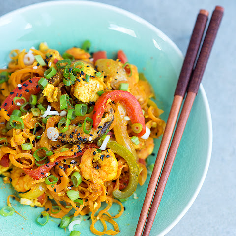 Healthy Stir-Fried Singapore (Carrot) Noodles