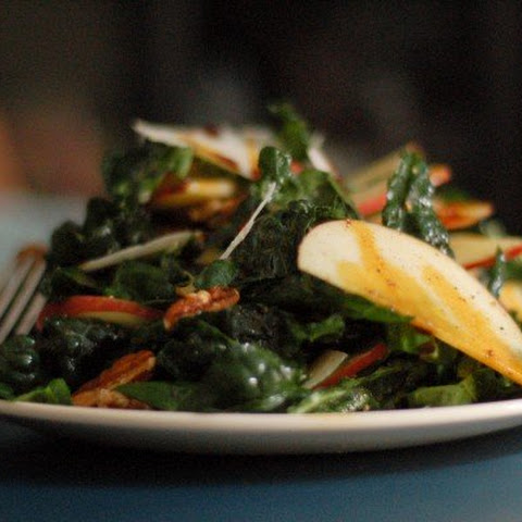 Apple and Lacinato Kale Salad with Saba