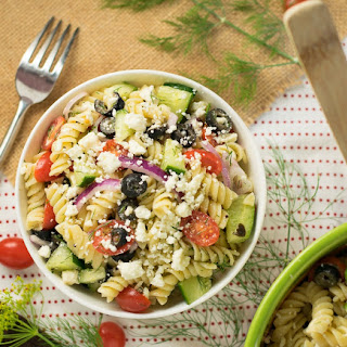 Feta and Dill Pasta Salad