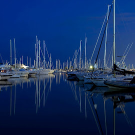 Blue by Giuseppe BeeBell - Transportation Boats ( pescara porto )