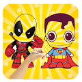 Download ✎ Draw : Chibi Super heros APK on PC