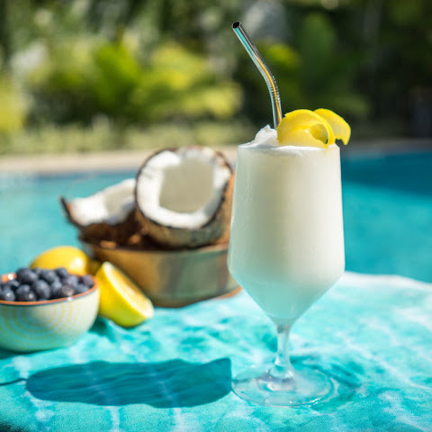 Cruzan® Blueberry Lemonade Colada