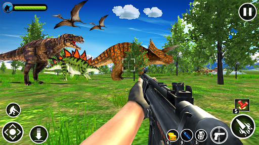 Dinosaur Hunter Free screenshot 1