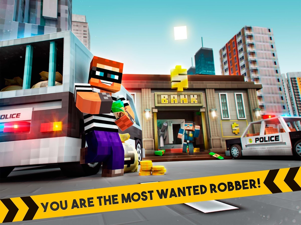 🚔 Robber Race Escape 🚔 Screenshot 3