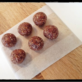 Almond, Date and Cranberry Protein Balls