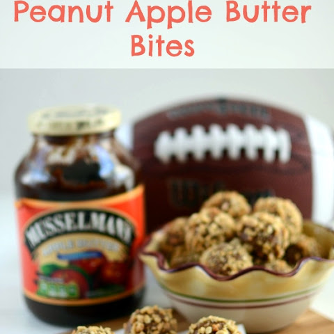 Peanut Apple Butter Bites