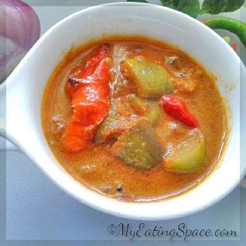 Burnt Eggplant Curry – Eggplant Theeyal