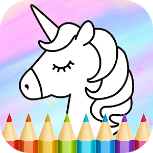 Unicorn Coloring Book New App on Andriod - Use on PC
