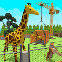 Zoo Craft : Blocky World Construction & Builder For PC