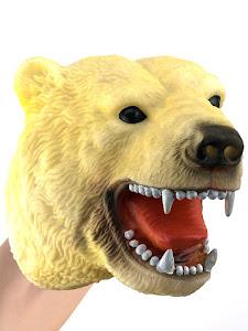 """Игрушка-фигурка серии """"Город Игр"""", медведь, бибабо"""