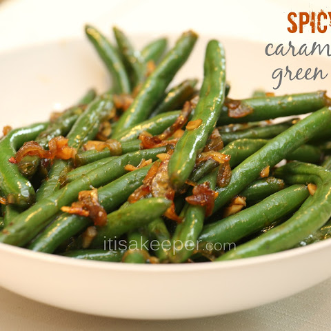 Spicy Caramelized Green Beans