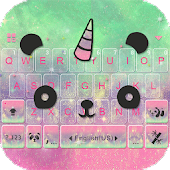 Cuteness Panda Keyboard Theme Icon