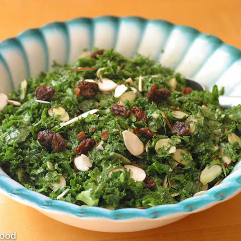 Kale & Toasted Almond Salad