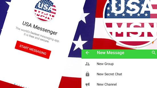 Free WhatsUp USA Messenger APK for Windows 8