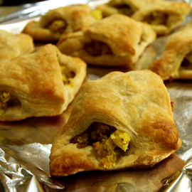 by Dipali S - Food & Drink Cooking & Baking ( food, potato, baking, pastry, puff, filling, patties )