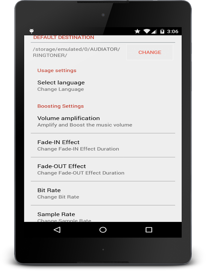 MP3 Cutter Ringtone Maker PRO Screenshot 7