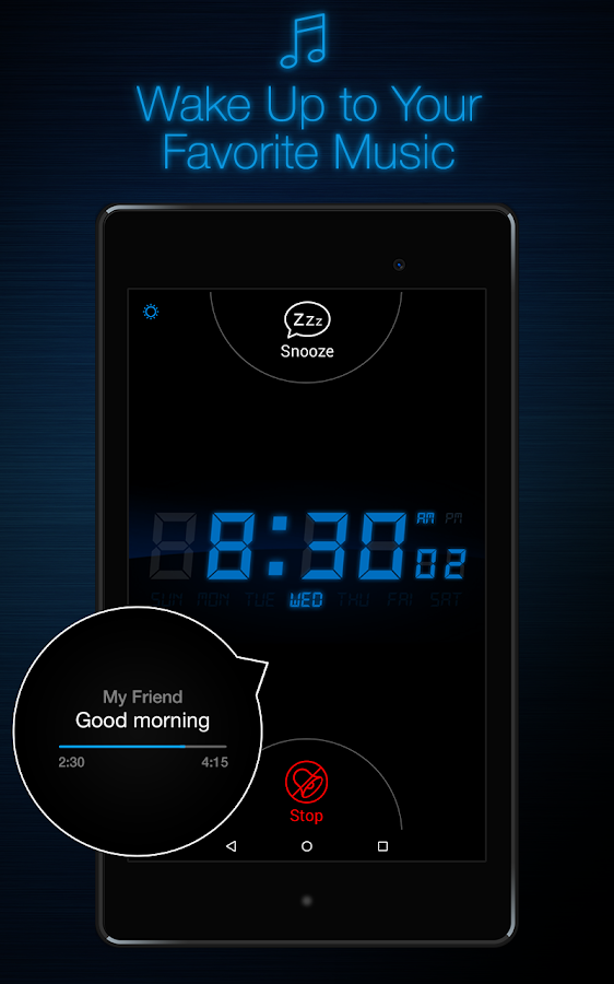 My Alarm Clock Free Screenshot 16