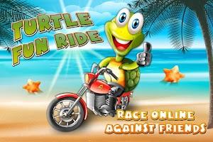 Screenshot of Turtle Fun Ride - Race online