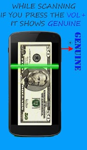 Money Scanner Prank 2 - screenshot