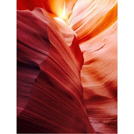 Which line will you pick? They all lead in the same direction, but be careful their destinations may vary. Take a leap of faith and choose a line to follow. by Janis Iourovitski - Novices Only Landscapes ( rock, antelopecanyon, Arizona, slotcanyon, canyon, red )
